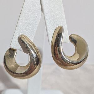 Vintage Gold 70's or 80's Avon Clip Earrings